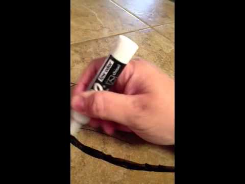 How to remove permanent marker off a tile!