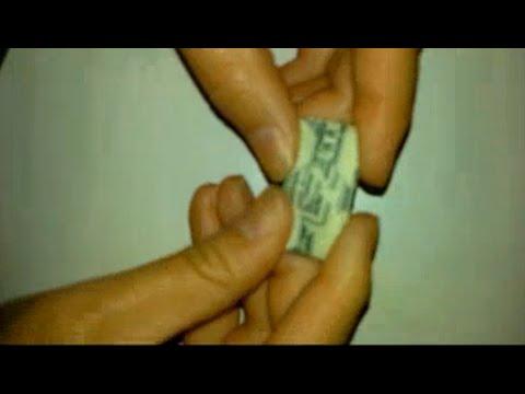 folding a dollar bill. great for tricking friends