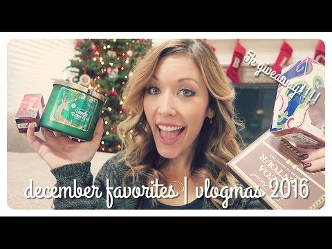 december favorites | vlogmas - brianna k 5k giveaway!!  (CLOSED)