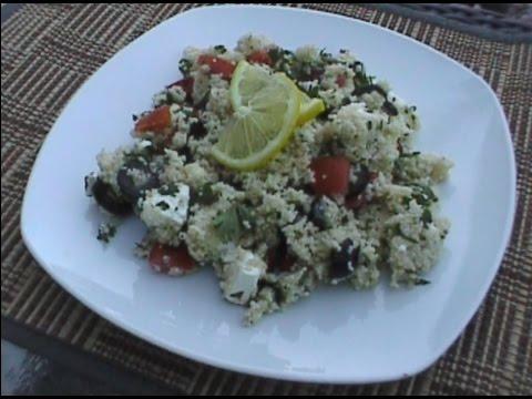 Quick Couscous Feta Salad