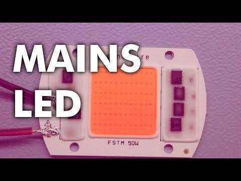 220V / 230V Mains Power Full Spectrum LED COB