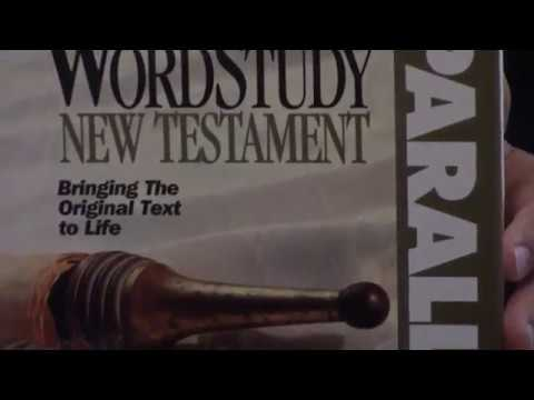 Bible Review Word Study New Testament KJV Study Bible Greek By AMG Publishers