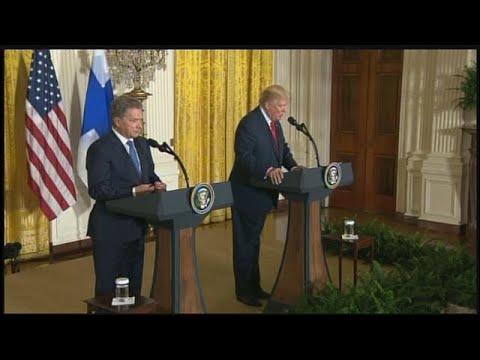 VIDEO: Trump answers reporter's question about decision to pardon Sheriff Joe