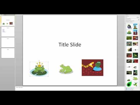 Creating Picture Hyperlinks in PowerPoint 2010