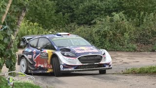 WRC ADAC Rallye Deutschland 2017   Test Ogier Ford M-sport [HD] Devillersvideo