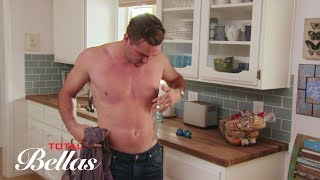 JJ shows off his newly-waxed chest to Brie Bella and Daniel Bryan: Bonus Clip, Oct. 11, 2017