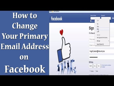 Facebook Number Id Change | How to Change your Login Email Address on Facebook