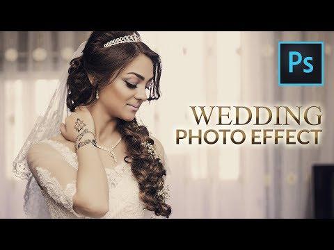 Photoshop Tutorial   Wedding Photo Effects + Free Photoshop Action File   Soft Vintage Effect