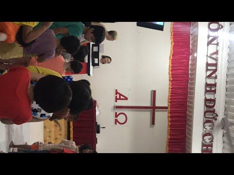 Trẻ ở HT Phú Lý thờ phượng- Feb 13-2018