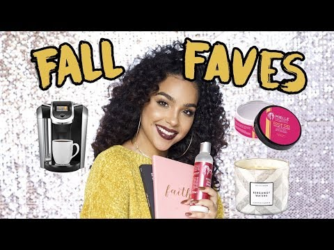 FALL FAVORITES! Candles, Beauty, and Books!