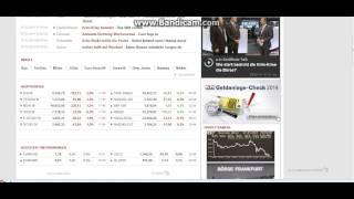 [Tutorial German] Börse info