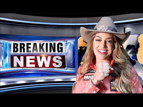 BREAKING NEWS AT RODEO HOUSTON!!!