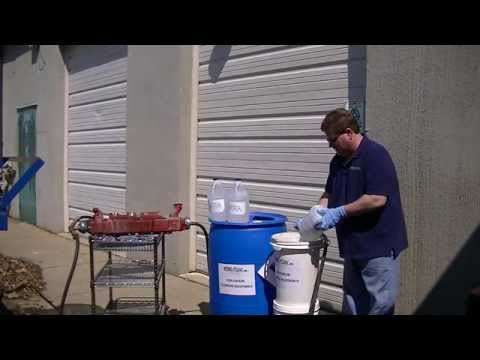 EGR Cooler Cleaning Video By Hydro-Zone, Inc. (734) 247-4488  www.Hydro-ZoneInc.com
