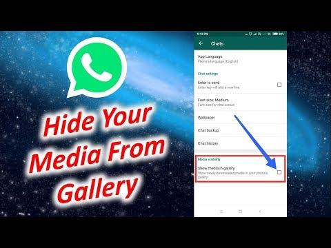 Hide Your Media From Gallery। Hide Whatsapp Videos and Photos