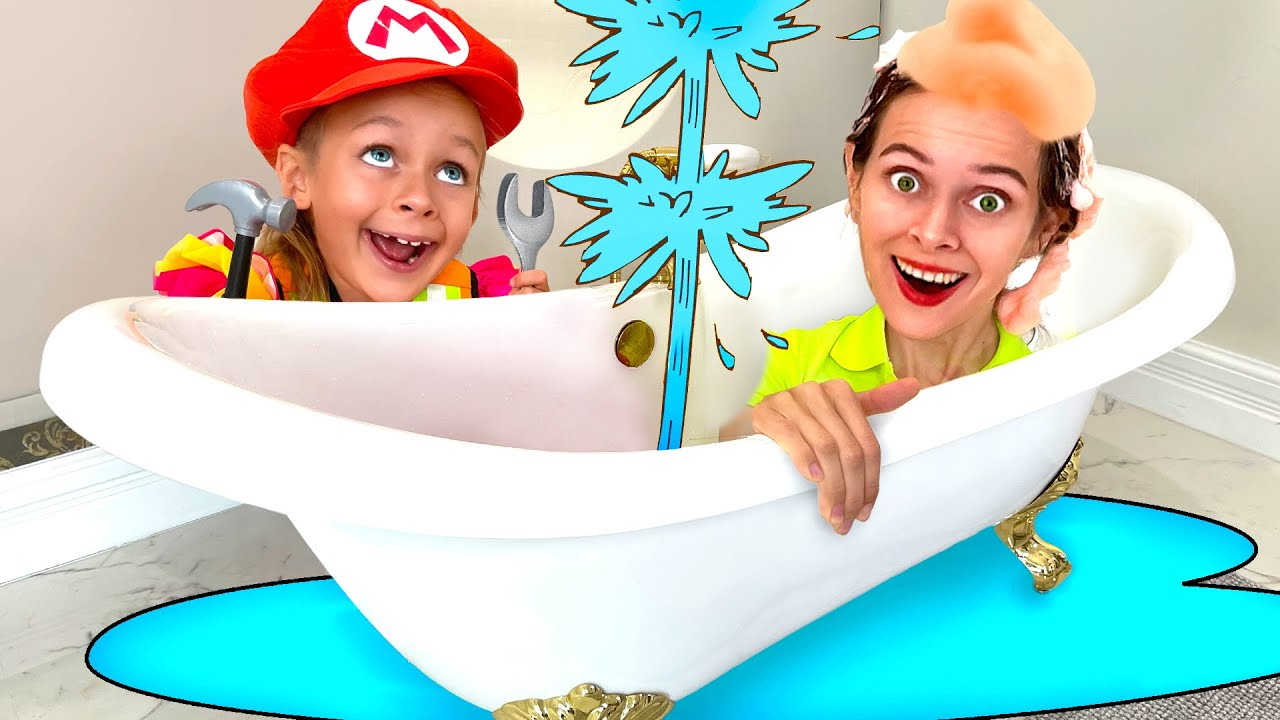 Plumber Song and Clean Up Song   Maya and Mary Nursery Rhymes & Kids Songs