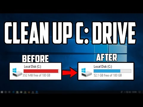 How to Clean up Your C Drive in Windows 10
