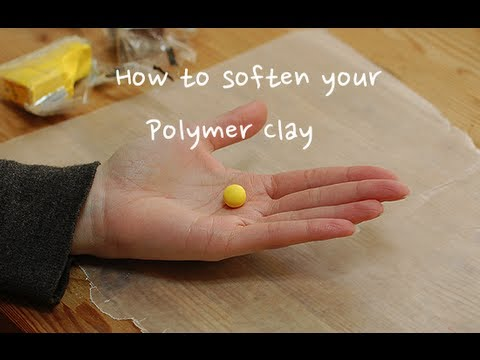 Three Ways To Soften Your Polymer Clay!
