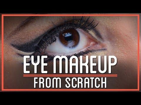 Khol Eyeliner and Ultramarine Eyeshadow From Scratch | HTME: Cosmetics
