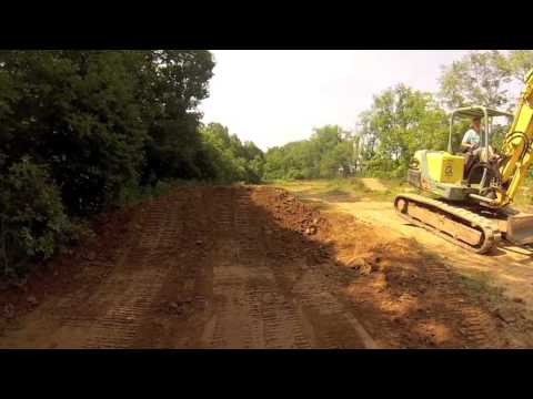 Dirtbike Jump building and Testing with GoPro