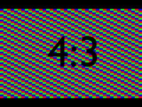 HD LCD Screen Burn In / Stuck Pixel Fix for Ratio 4:3 1hr Long