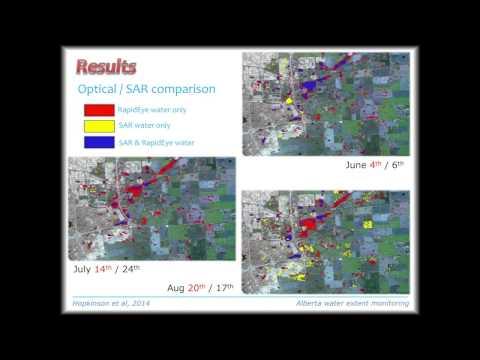Dr. Chris Hopkinson: Alberta Water Extent Monitoring Pilot Study