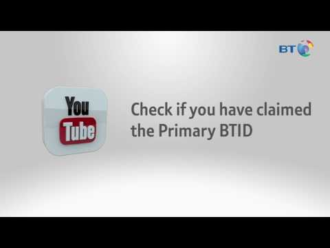 How to create your BT ID   BT