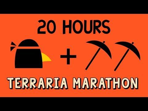 Terraria - 20 Hour Marathon.