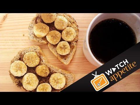 Banana Maple Cinnamon Toast