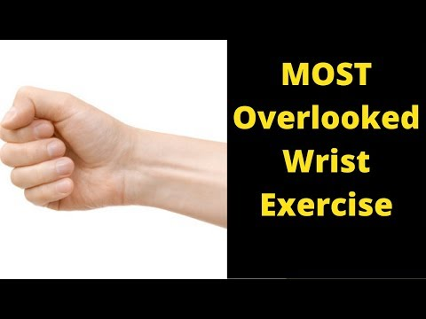 MOST Overlooked Wrist Strength and Forearm Exercise To Build Stronger Muscles | Helps Your Grip Too!
