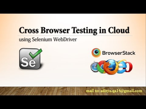 Cross Browser Test in Selenium Webdriver using BrowserStack Cloud