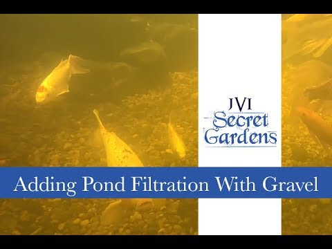 Adding Filtration To A Pond With Gravel