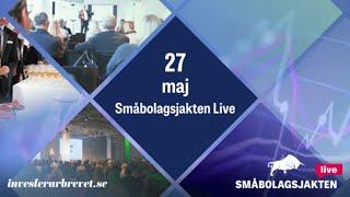 Småbolagsjakten Live: Shape Robotics, Synact Pharma, Fluicell med flera!