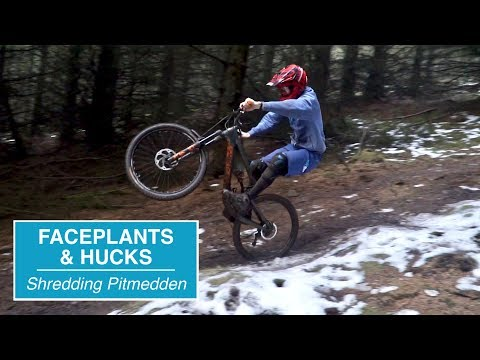 Faceplants and Hucks // Shredding Pitmedden