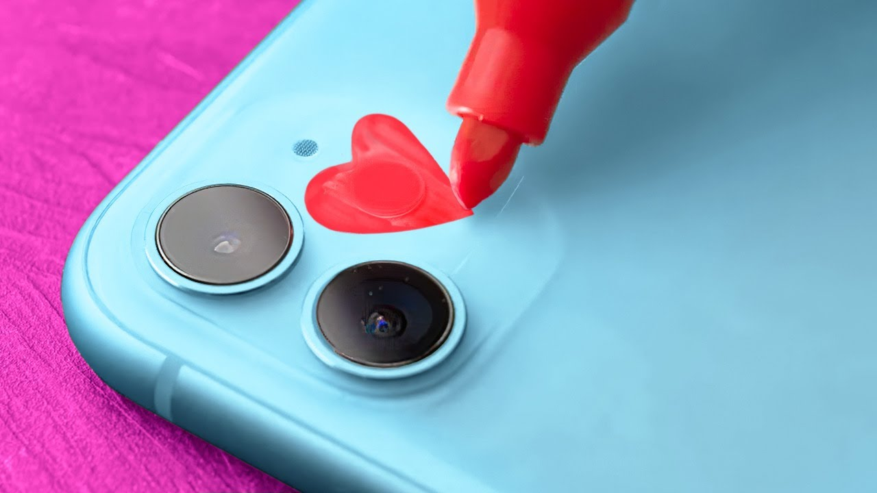 Cute And Beautiful Phone Case Decor Ideas And Smart Phone Tricks For Any Situation