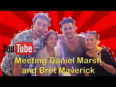 Meeting Famous YouTube Vloggers Daniel Marsh and Bret Maverick Cebu Philippines