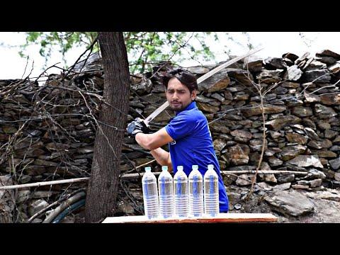 Xxx Mp4 5 Water Bottle 39 S Vs Desi Talwar Will It Cut Through Experiment With INDIAN SWORD 3gp Sex