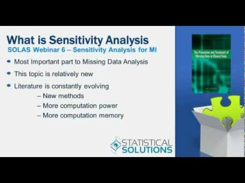 Sensitivity Analysis Using SOLAS for Missing Data Analysis