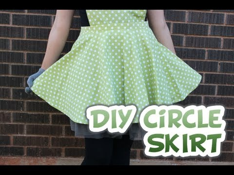 Circle Skirt With Zipper | How to | Whitney Sews