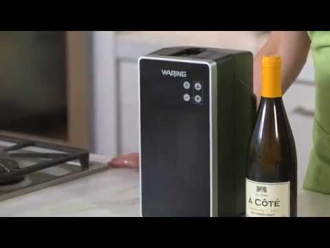 Drink Wine at the Right Temperature with the Waring Wine Chiller | Williams-Sonoma