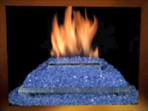 ventless gas log alterna fireplace
