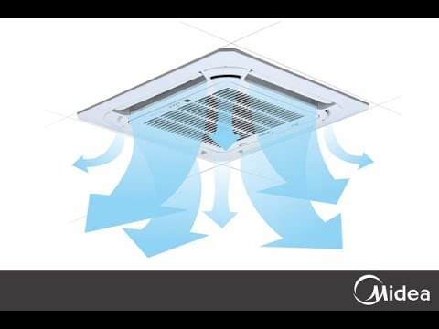 How to install a Midea Ceiling Cassette?