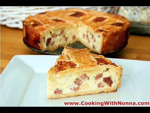 Nonna's Pizza Rustica  - Pizzagaina - Rossella's Cooking with Nonna