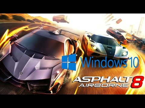 Asphalt 8 Airborne on Windows 10 pc + Gameplay and download link