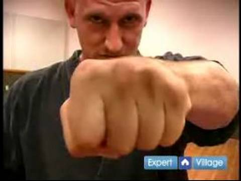 How to Become a Mixed Martial Artist : How to Make a Fist that Won't Break your Fingers