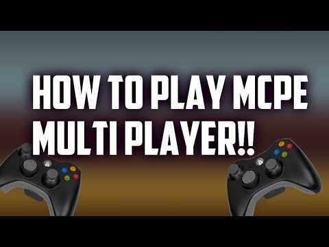 √ MCPE : How To Play Multiplayer without server!!