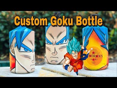 Custom Goku Bottle