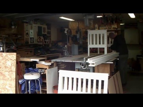 DIY:reclaimed  bunk bed into a bench