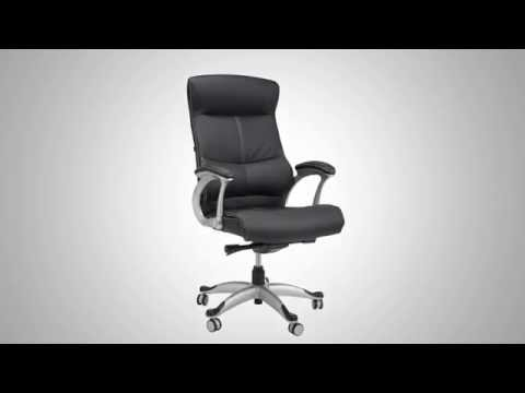 Samsonite Singapore Bonded Leather Office Chair - Official Product Video
