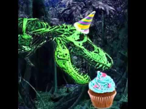 1. Dinosaurs Eating Cupcakes