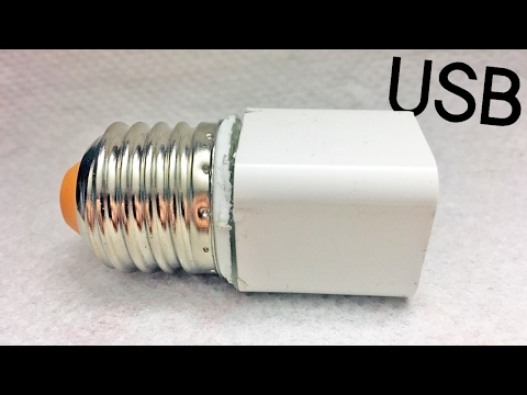 Lightbulb USB charger • Do it Yourself